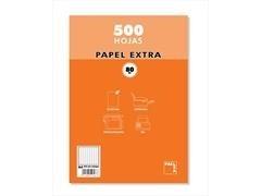 Paquete resmillería 500 h 80 gr.  cuadrícula 4x4 tamaño A4