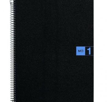 Cuaderno Miquel Rius microperforado Note Book1 A4 cuadrícula 5x5 80h 90 g/m2 azul