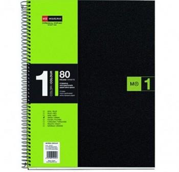 Cuaderno Miquel Rius microperforado Note Book1 A5 80h cuadrícula polipropileno 70 g/m2 verde mr