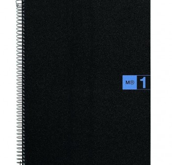 Cuaderno Miquel Rius microperforado Note Book1 A5 80h cuadrícula polipropileno 70 g/m2 turquesa mr