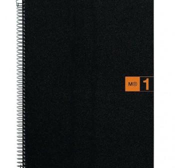 Cuaderno Miquel Rius microperforado Note Book1 A5 80h cuadrícula polipropileno 70 g/m2 naranja mr