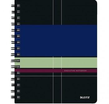 Cuaderno Executive Wirebound microperforado con funda integrada A5 80h. 80gr 5x5 Cubierta PP