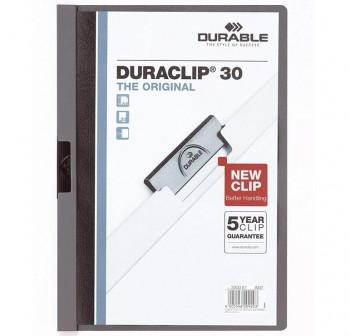 Dossier pinza Duraclip 1-30h a4 gris