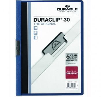 Dossier pinza Duraclip 1-30h a4 azul