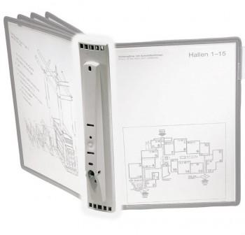 SHERPA Clasificador de pared A4 para 5 fundas (no incluye fundas)