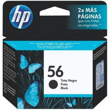 HP Cartucho inkjet C6656A negro original Nº56