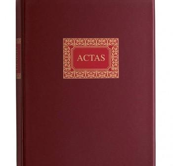 DOHE Libro cont. actas folio natural 50 hojas