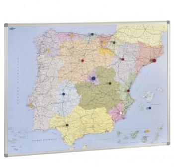 Mapa Faibo de España y Portugal 103x129 cm