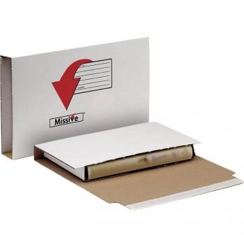 Fellowes Caja para envíos postales tamaño A4 320 x 80 x 220mm