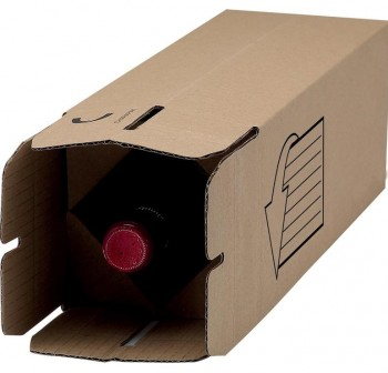 Fellowes Caja de envío para botellas 310x78x78cm