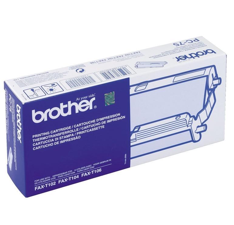 BROTHER Cinta transf.termica PC-74RF original