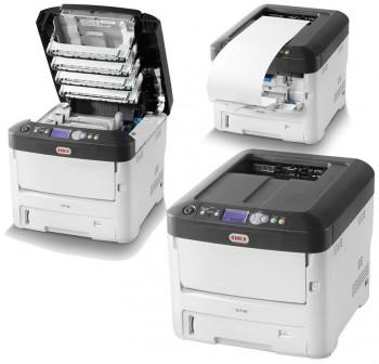 Oki Impresora Laser color A4 con duplex y red C712DN
