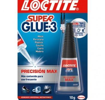 Tubo pegamento Loctite super glue 3 precision 5gr