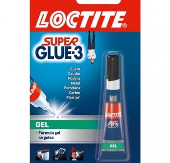Bote pegamento loctite super glue 3 gel 3gr