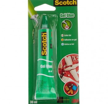 Tubo pegamento universal gel Scotch 3045C12 30gr