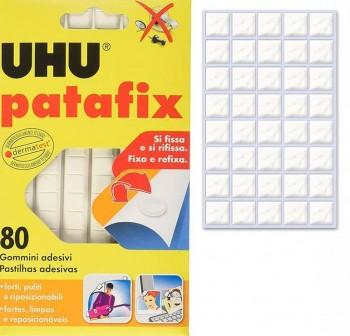 Blister 80 pastillas de pegamento reutilizables patafix original