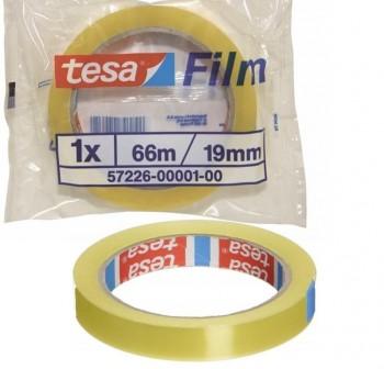 Cinta adhesiva tesafilm Standard 66mx19mm en bolsita