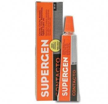 Tesa Tubo de pegamento de contacto Supergen 20 ml incoloro