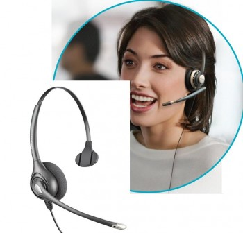 PLANTRONIC Auriculares con cable monoaural sup supraplus HW251N