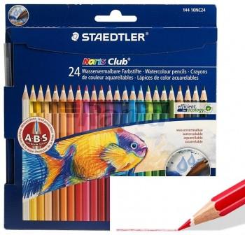 STAEDTLER Lapiz acuarelable 24 colores