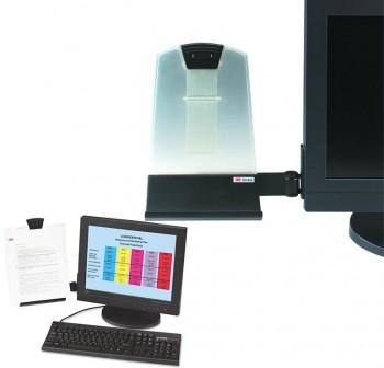 3M Atril soporte de documentos para pantallas planas (capacidad 35hojas)