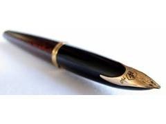 Bolígrafo Waterman carene laca marrón brillante