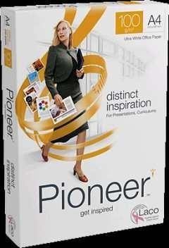 PIONEER Papel 100gr. paquete 250hojas DIN-A4