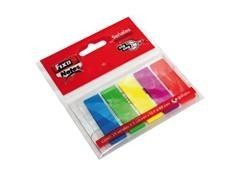 Blister 5 marcadores Fixo notes zig-zag removibles 13x43mm 25h x 5 colores surtidos neón