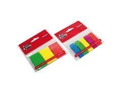 Blister 5 marcadores Fixo notes removibles 13x43mm 25h x 5 colores surtidos neón