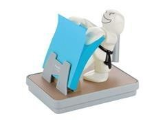 Dispensador Karate Kid post-it  z-notes + 1 Bloc Notas Super Sticky  Z-Notes 76 x 76 mm 90h azul med