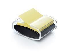 Dispensador Negro pro +1 Bloc ZNotas Post-it  Super Sticky amarillo