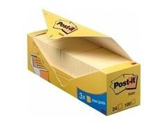 Pack 16 blocs notas Post-it  38x51mm 16+4 gratis