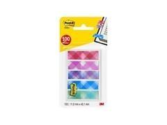 Dispensador Post-it  Index marcadores pequeños decorados, 100/Pack- 5 x 20 marcadores