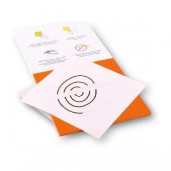 Rocada Bloc 100 notas reposicionables Skinny Notes con dos caras (naranja y blanca) 200x100mm