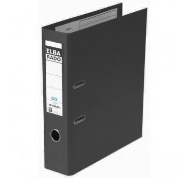 Archivador con rado Elba folio 80mm negro