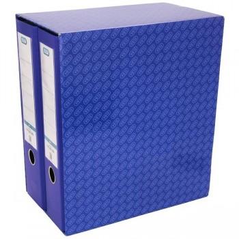 Módulo 2 Archivadores con rado Elba A4 80mm 330X170X300 azul