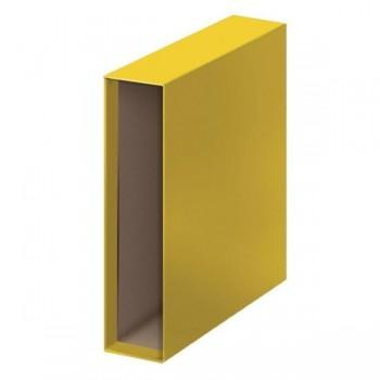 Caja para Archivador lomo 85mm A4 amarillo
