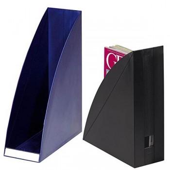 Revistero poliestirol go-box A4 320X265x98mm negro