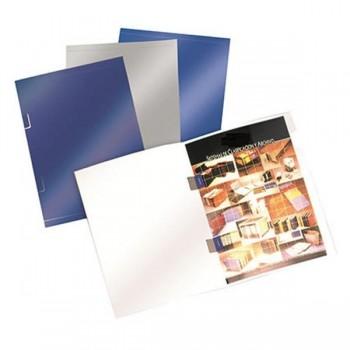 Pack 25 Subcarpetas especial grapado senior 325x235mm azul