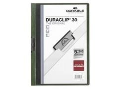 Dossier Pinza duraclip 1-30h A4 verde
