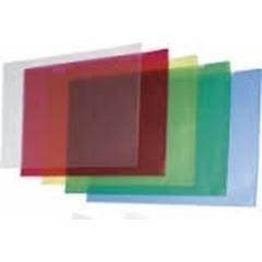 Caja 50 Dossiers uñeros PVC folio blanco