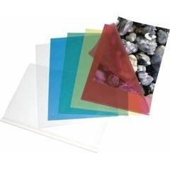 Caja 100 Dossiers uñeros pp A4 transparente