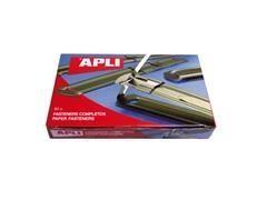 APLI Caja 50 encuadernadores fástener