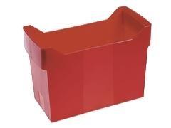 Bastidor plástico Carpetas colgantes archibox capacidad 20 Carpetas rojo