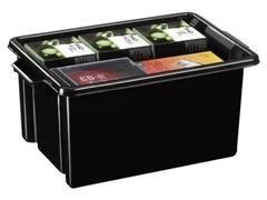 Caja multiuso ideal en orden apilable sin tapa 2 asas capacidad 14,5l medidas 270x410x193mm poliprop