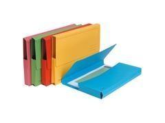 Pack 10 subcarpetas con bolsa Exacompta 220gr 24x32cm   colores surtidos