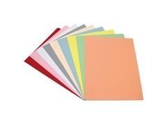 Pack 50 subcarpetas cartulina A4 180 gr. color pastel crema