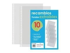 Bolsa 10 recambios de fundas extraibles
