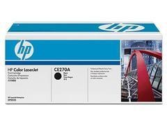 HP Toner laser CE270A negro original (13,5k)