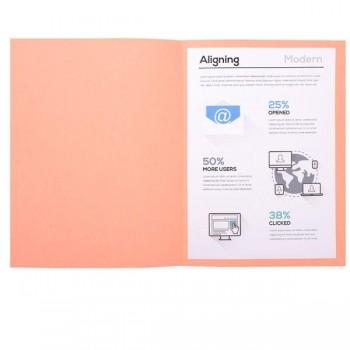 Pack de 100 subcarpetas de cartulina FOREVER 250 (240 gr.) rosa